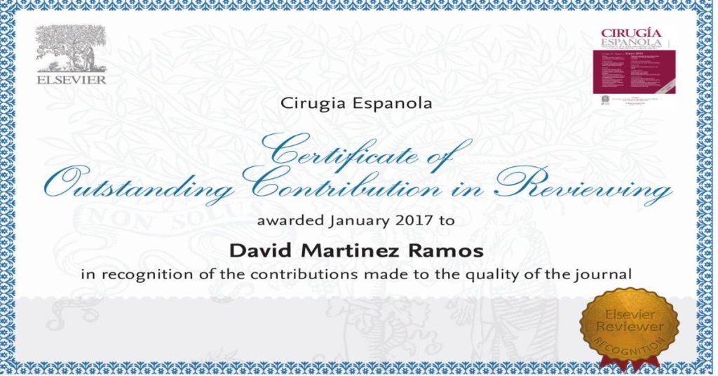 cirugia española certificado revisor david martinez ramos castellon clinica estetica